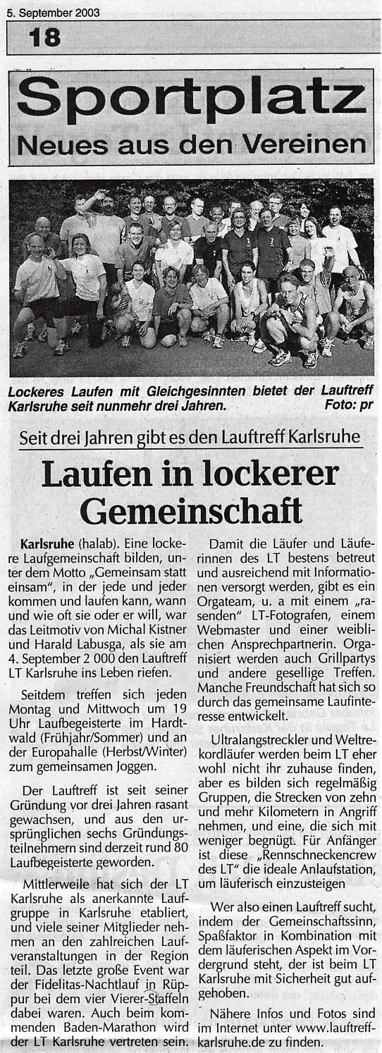 Kurier Zeitung Karlsruhe